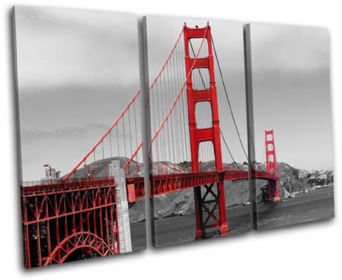 Golden Gate Bridge Landmarks - 13-1275(00B)-TR32-LO